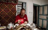 Morgenmuffel beim Frühstück - Rahmen hat NICHT gehalten