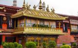 Das Jokhang-Kloster ist das Hauptkloster der tibetischen Buddhisten.