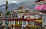 Über den Dächern von Lhasa.