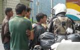 Gewohntes Bild beim Halt in Dörfern.