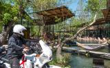 Wassergarten-Café zum perfekten Abhängen auf dem Weg zur Saklikent-Schlucht