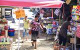 Auf dem Markt von Osh.